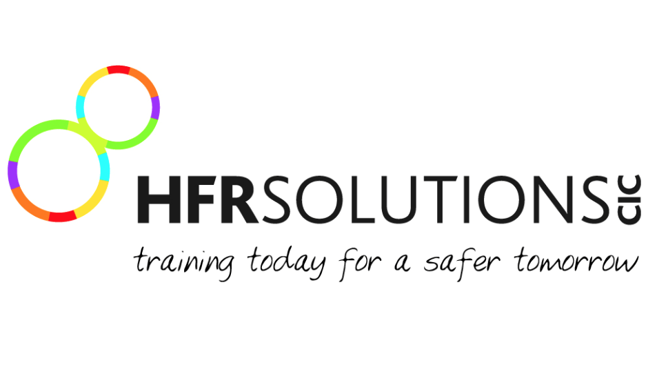 HFR solutions logo, fire and rescue, humberside