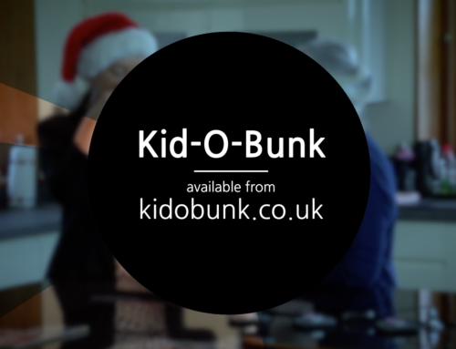 Kid O Bunk Christmas TV Advert