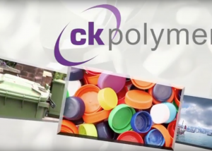 CK Polymers Corporate Video , CK polymers Screenshot from video, logo