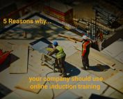 5 reasons for induction , construction site, builders