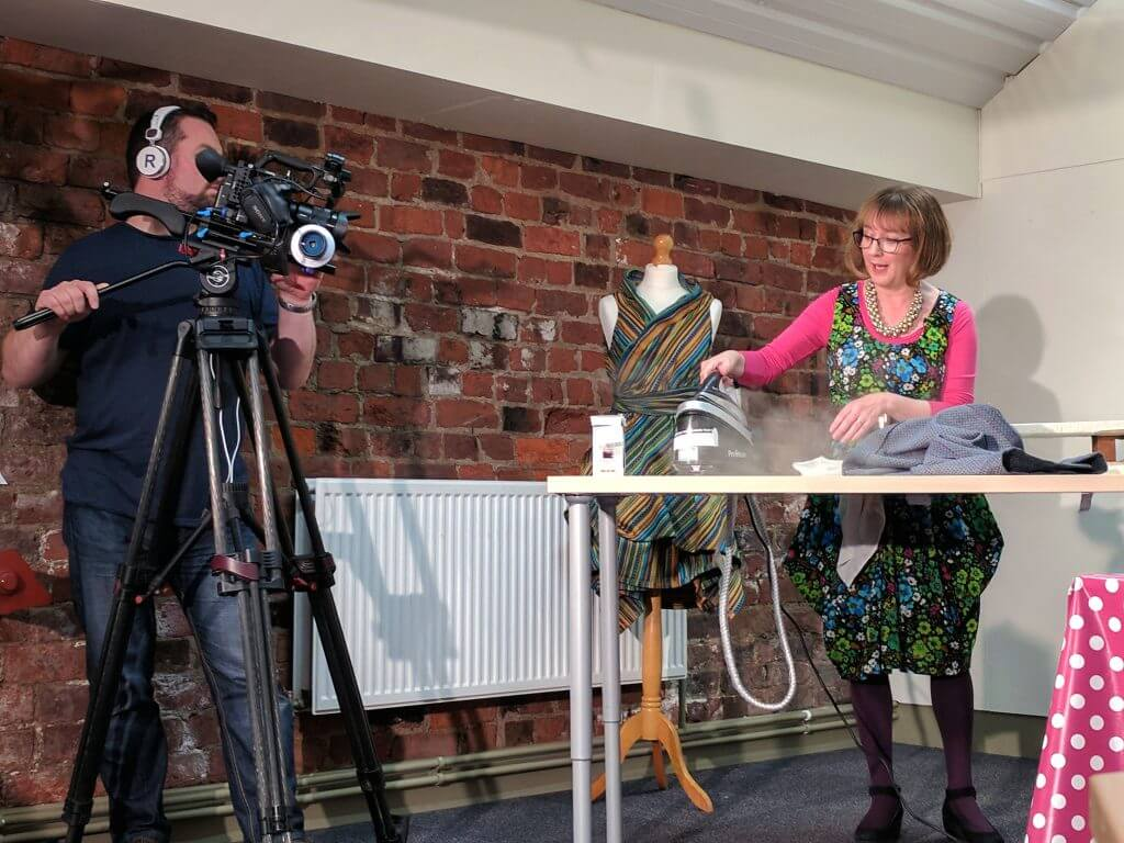 Television advertising, TV ADVERTISING , ADVERTS, FILMING, FILM SHOOT, CAMERA, SEW EXPERT, ACTING