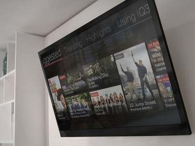 video on demand, video on demand advertising, VOD, VOD advertising, adverts, wall mounted smart tv, on demand tv