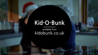 kid o bunk, tv advert, screenshot , kid o bunk logo, christmas, advertising, Kid O Bunk Christmas TV Advert