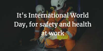 World day for safety and health, online induction, health and safety, workmen