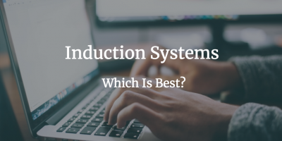 type of induction, online induction systems, on-site, off-site, elearning, health and safety