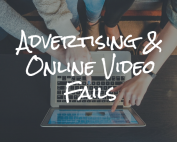 video fails, online video, advertising, tv advertising