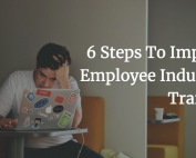 Employee Induction, 6 ways to improve, online induction, induction, training