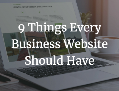 9 Things Every Business Website Should Have