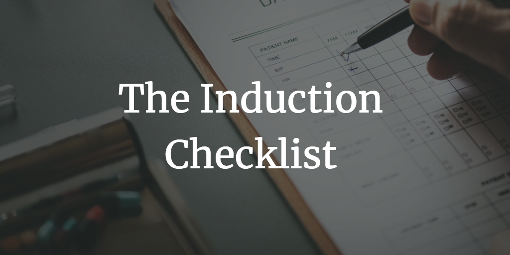 The Induction Checklist, online induction, induction system, induction, elearning