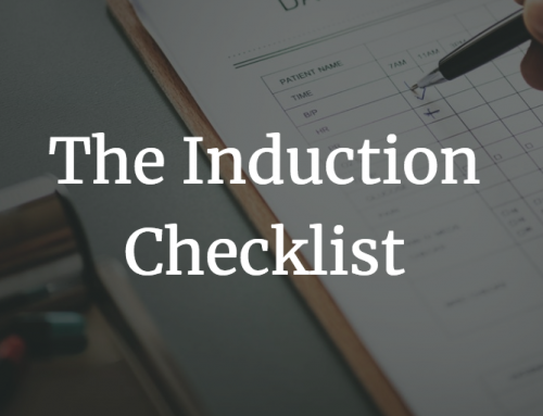 The Induction Checklist