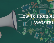 How To Promote Your Website Online, website design, digital marketing, online